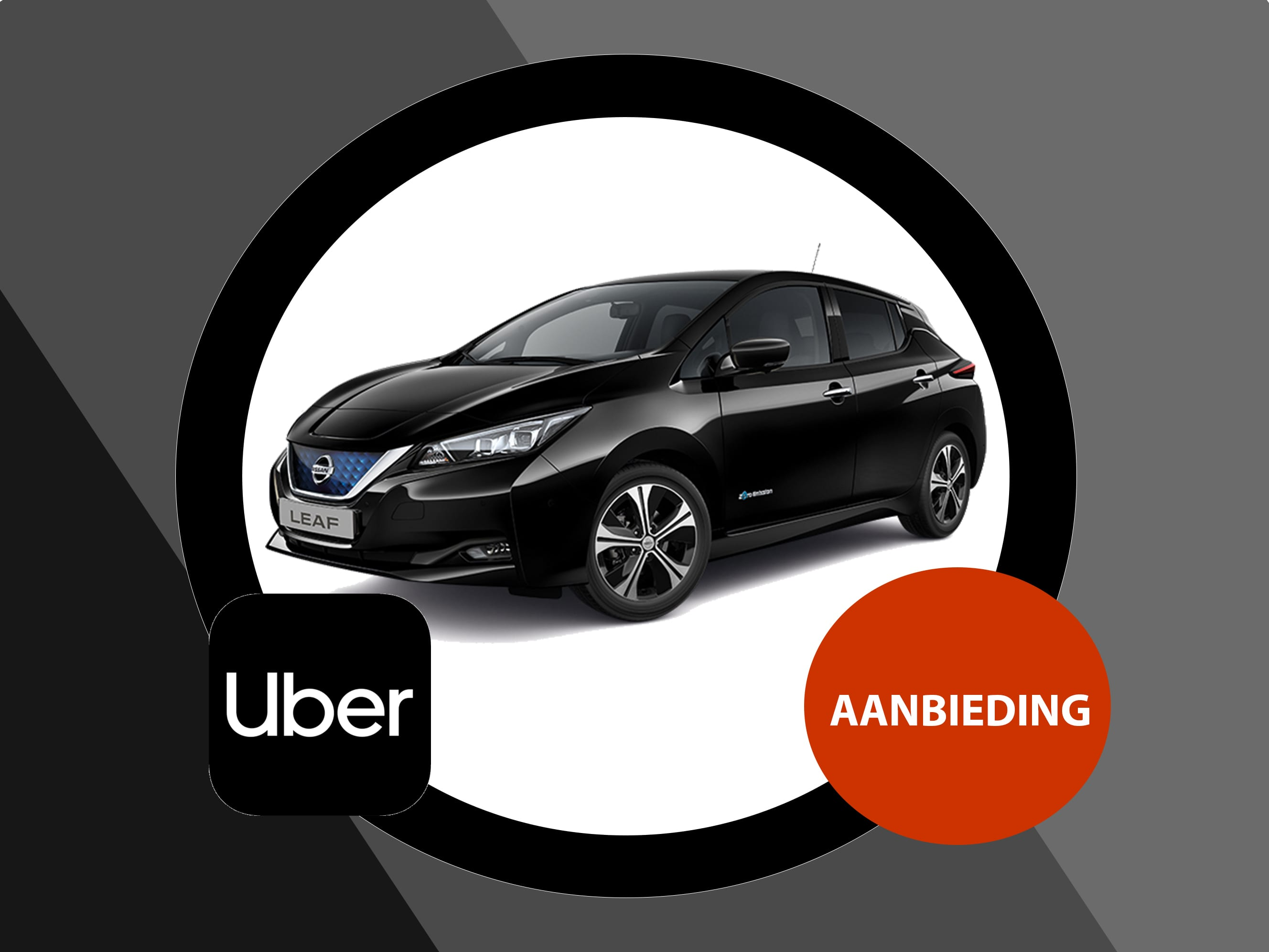 Nissan Leaf 40 kWh Acenta Uber Private lease